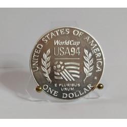 USA 1994 World Cup  Soccer Silver Dollar Commemorative Coin