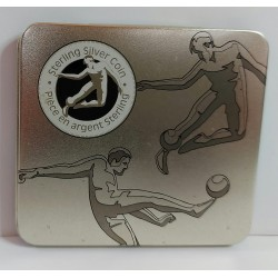 CANADA 50 CENTS 1988 SOCCER