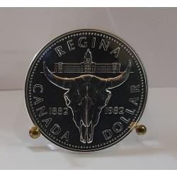 CANADA 1 DOLLARO 1982