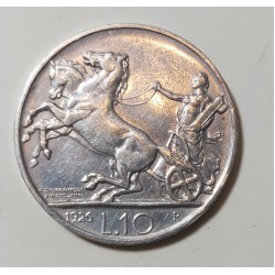10 LIRE 1926  BB/SPL