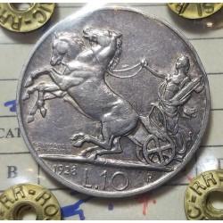 10 LIRE 1938 1 ROSETTA
