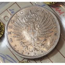 1 LIRA 1907 FDC
