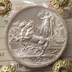 2 LIRE 1917 qFDC